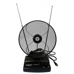 Antena pokojowa AM / FM / DVB-T  regulowana  ANTV 44