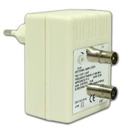 Wzmacniacz antenowy UHF/VHF/DVB-T z regulacją XN06