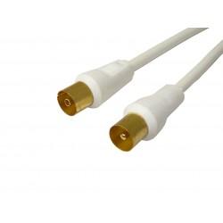 Przewód antenowy TV-VIDEO RF GOLD 1,5 m T02