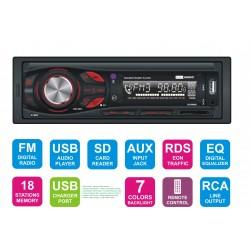 Radioodtwarzacz samochodowy FM/USB/SD M-465