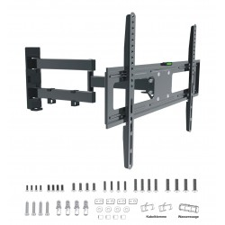 LCD-680 wysuwany obrotowy uchwyt TV LCD/LED FULL FRAME, Vesa max 600 x 400